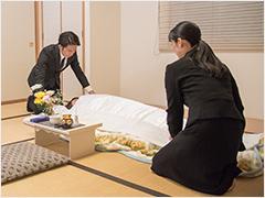 お葬式の流れ2:ご安置