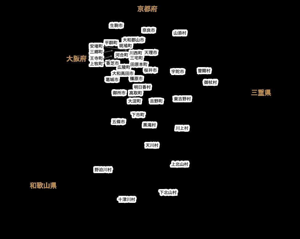 奈良県市区名