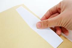 書類の写真