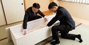 納棺のイメージ