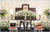 小さな一般葬の画像