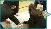 納棺の儀のイメージ