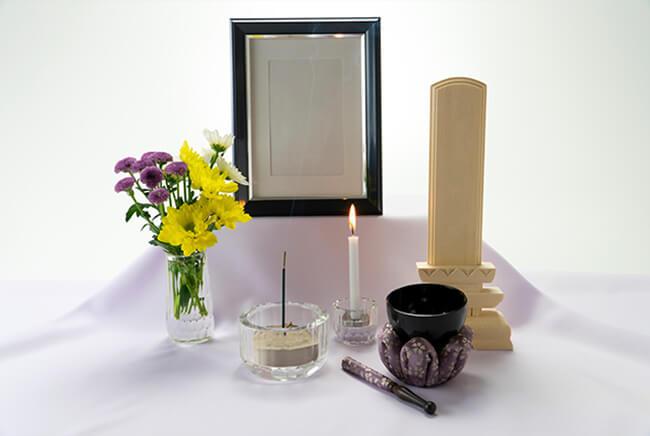 葬儀の物品イメージ画像