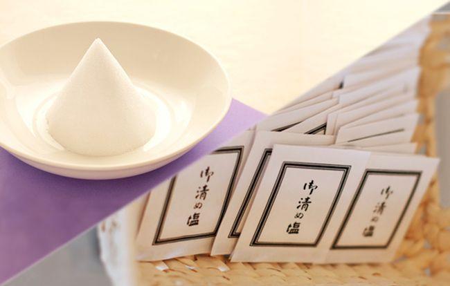 葬式で渡される「清めの塩」の正しい使い方