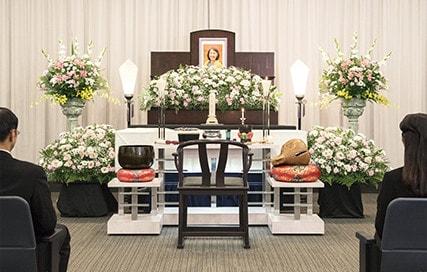 小さな一般葬 祭壇
