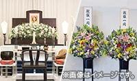 祭壇と供花
